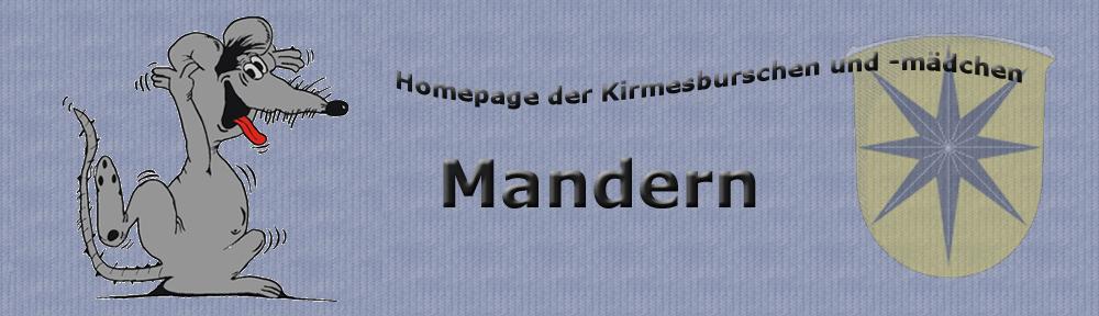 Homepage der Kirmesburschen und -mädchen Mandern